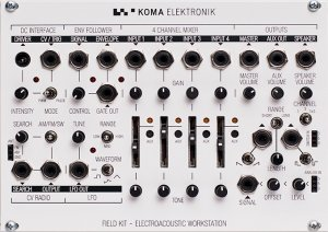 Eurorack Module Field Kit from KOMA Elektronik