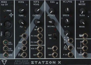Eurorack Module StationX from Analogue Solutions
