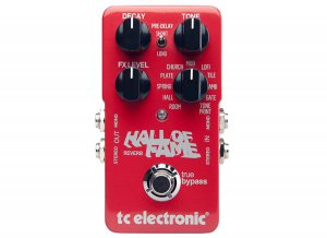Pedals Module Hall of Fame from TC Electronic