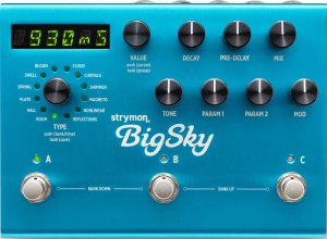 Pedals Module Big Sky from Strymon