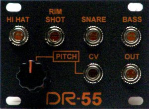 Eurorack Module DR-55 from Million Machine March