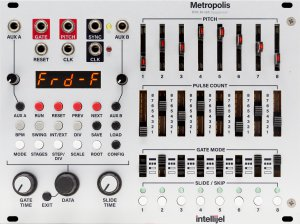 Eurorack Module Metropolis from Intellijel