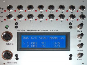 Eurorack Module MUC-400 from Other/unknown