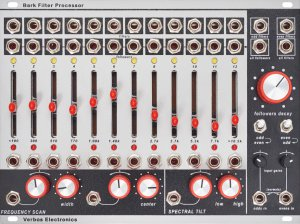Eurorack Module Bark Filter Processor from Verbos Electronics