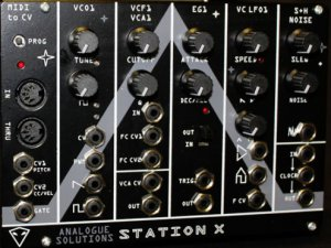 Eurorack Module Station X from Analogue Solutions