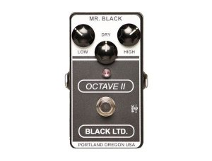 Pedals Module Black LTD. Octave II from Mr. Black