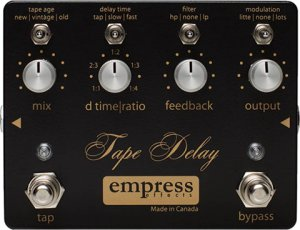 Pedals Module Tape Delay from Empress Effects