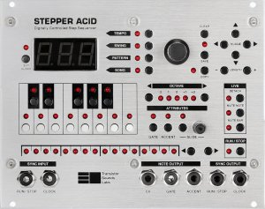 Eurorack Module Stepper Acid from Transistor Sounds Labs