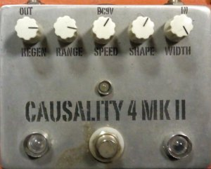 Pedals Module Causality 4 Mk II phaser from Other/unknown