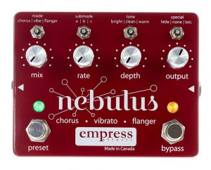 Pedals Module Nebulus from Empress Effects