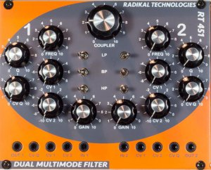 Eurorack Module RT-451 from Radikal Technologies