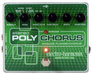 Pedals Module Stereo Polychorus from Electro-Harmonix