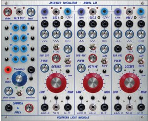 Buchla Module Animated Tricillator - Model 2AT from Northern Light Modular