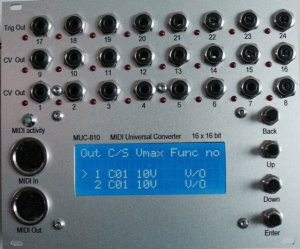 Eurorack Module MUC-810 from Other/unknown