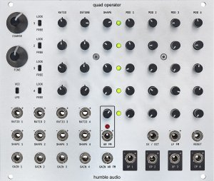 Eurorack Module Quad Operator from Humble Audio