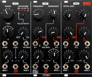 Eurorack Module 810 from System80