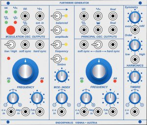 Eurorack Module FURTHRRRR GENERATOR roots 259 panel from Other/unknown