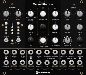 Eurorack Module Mutant Machine from Hexinverter Électronique