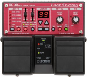 Pedals Module RC-30 from Boss