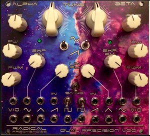 Eurorack Module Radical Frequencies Dual Precision VCO Alternate from Other/unknown