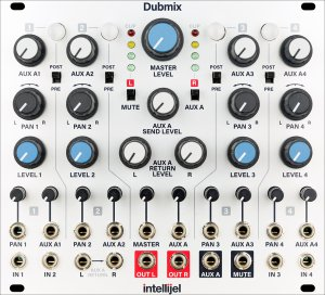 Eurorack Module Dubmix from Intellijel