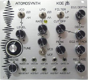 Eurorack Module Koe v3.0 from Atomosynth
