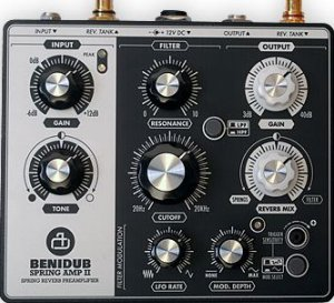 Pedals Module BeniDub spring Amp II from Other/unknown