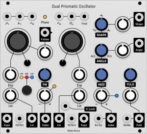Eurorack Module DPO (Grayscale panel) from Grayscale