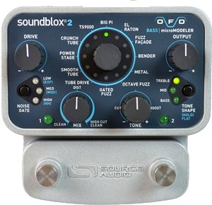 Pedals Module Soundblox 2 OFD Bass Micromodeler from Source Audio