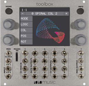 Eurorack Module Laserbox from 1010 Music