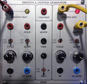 Eurorack Module Serge Smooth & Stepped Generator SSG from Tiptop Audio