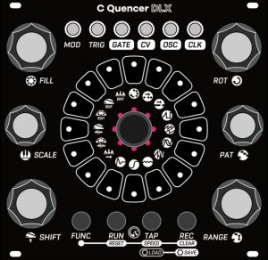 Eurorack Module C Quencer DLX from Centrevillage