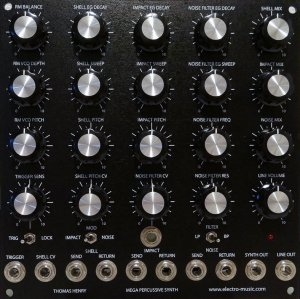 MOTM Module Mega Percussive Synth from Other/unknown