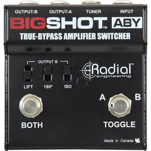 Pedals Module BigShot ABY  from Radial