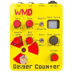 Pedals Module Geiger Counter from WMD