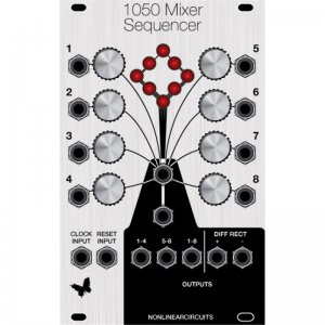 Eurorack Module 1050 MIXER SEQUENCER, EURO C68 from Nonlinearcircuits