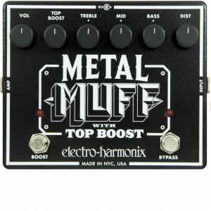 Pedals Module Metal Muff w/ Top Boost from Electro-Harmonix