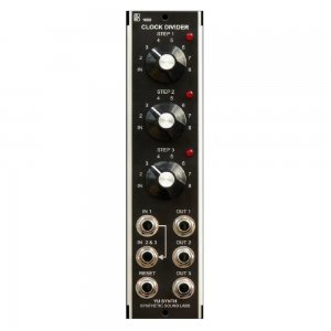 MU Module YuSynth Triple Clock Divider - Model 1600 from Synthetic Sound Labs