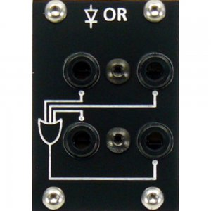 Eurorack Module Diode OR black from PulpLogic