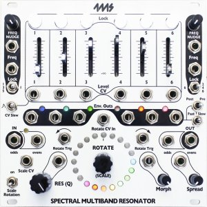 Eurorack Module Spectral Multiband Resonant Filter from 4ms Company