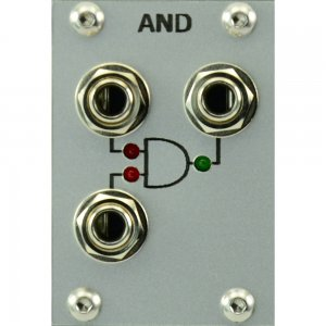 Eurorack Module Logical AND silver from PulpLogic