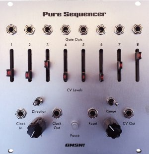 Eurorack Module PURE Sequencer from GMSN!