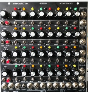 MU Module SympleSEQ Quad from Lower West Side Studio