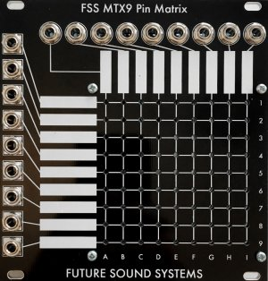 Eurorack Module MTX9 from Future Sound Systems
