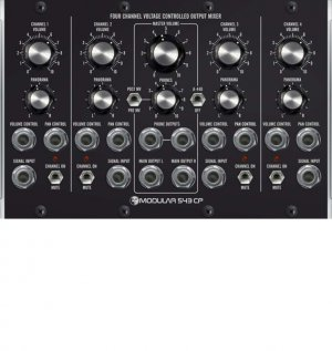 MU Module M 543CP Four Channel Output Mixer from Moon Modular