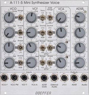Eurorack Module A-111-5 (Discontinued) from Doepfer
