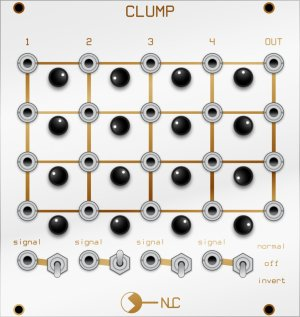Eurorack Module Clump from Nonlinearcircuits