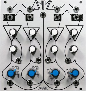 Eurorack Module QMMG (Blue/White Knobs) from Make Noise