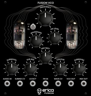 Eurorack Module Fusion VCO from Erica Synths