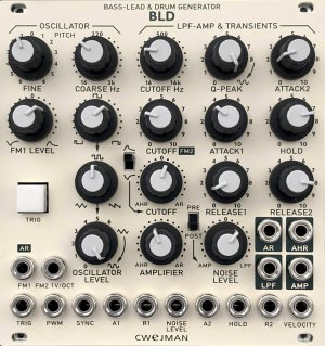 Eurorack Module BLD from Cwejman